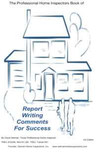 Home Inspection Report Writing Book